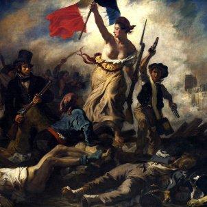 Eugène Delacroix La llibertat guiant al poble