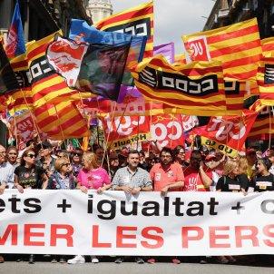 Manifestació 1 Maig Laietana - Sergi Alcàzar