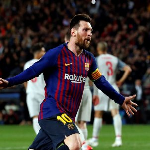 Leo Messi Barca Liverpool EFE