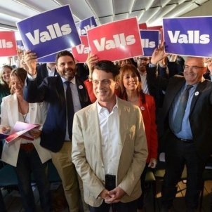 Manuel Valls candidatura - Europapress