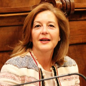 Carina Mejías Ciutadans últim ple Ajuntament Barcelona ACN