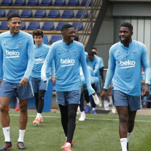 dembele todibo umtiti FC Barcelona