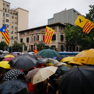 Manifestacio delegacio govern veto JEC europees - Sergi Alcàzar