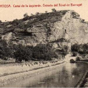 S'inaugura el Canal de l'Esquerra de l'Ebre. Fotografia de 1912. Font Blog Tortosa Antiga