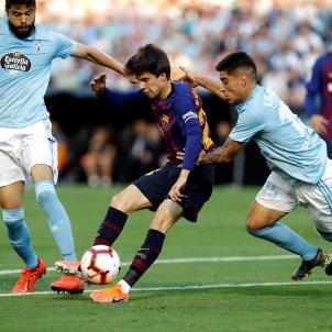 Riqui Puig Celta Barça EFE