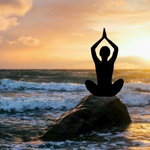 Meditació zen yoga relax (Pxhere)