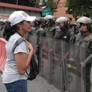 veneçuela policia bolivariana protestes efe