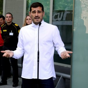 Iker Casillas hospital EFE