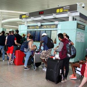 cues passatgers Aeroport Barcelona - ACN