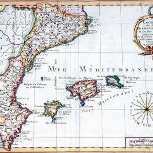 Paisos Catalans hispanics. Primera representació cartogràfica (1759)