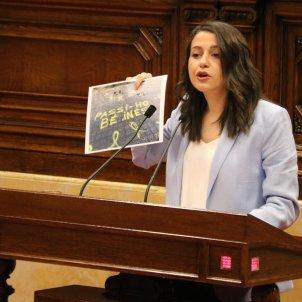 Arrimadas comiat cartellet Parlament
