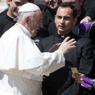 Papa Francesc capellans - Efe
