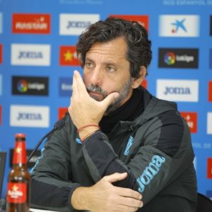 Quique Sánchez Flores RCD Espanyol