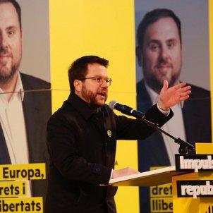 ELNACIONAL Pere Aragonès ERc inici campanya - Sergi Alcàzar