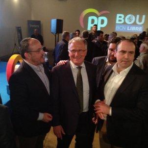 Alejandro Fernández Josep Bou Daniel Serrano (PP) - europa press
