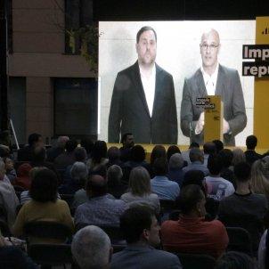 Junqueras Romeva Girona europees  ACN