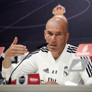 Zidane Madrid Roda premsa EFE