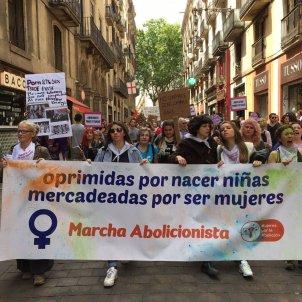 manifestacio prostitucio marxa abolicionista  twitter @miniakula