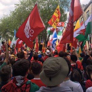 manifestació gales independencia Twitter   @gwenno ellis13