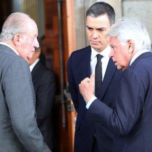 Juan Carlos Felipe Gonzalez Pedro Sànchez Europa Press