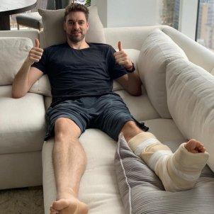 Pau Gasol lesió @paugasol