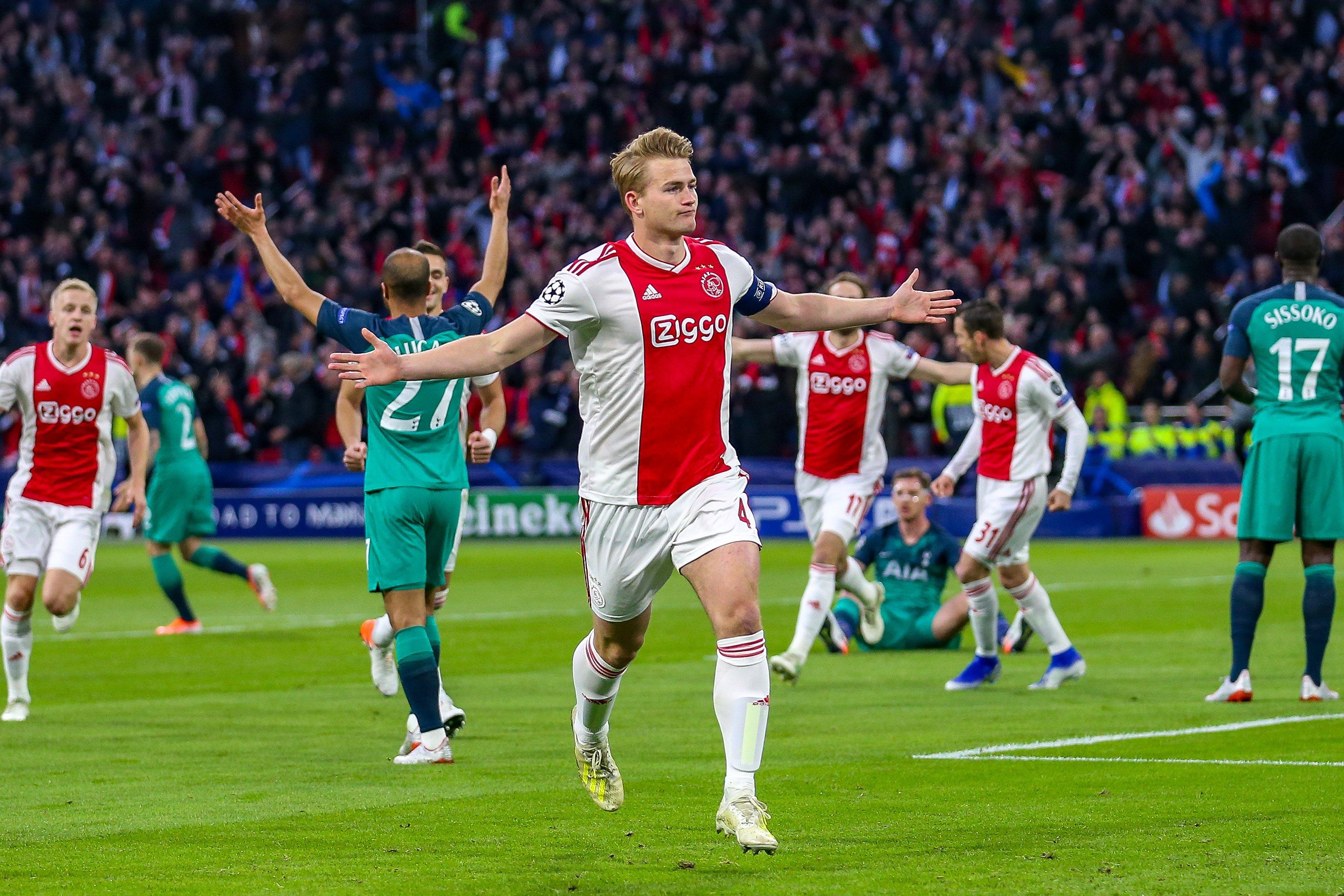 De Ligt Ajax Tottenham Europapress