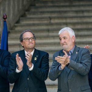 president quim torra jami matamala girona (bona qualitat) - Carles Palacio
