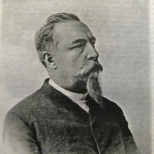 Mor Josep Fontserè, constructor del Parc de la Ciutadella. Retrat de Fontseré. Font Viquipedia