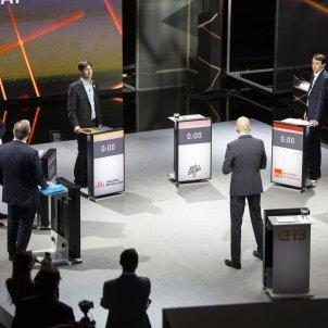 Sole Cañas Gonzalez Pons Urtasun Javi Lopez Candidats debat municipals i europees a TV3 - Sergi Alcàzar
