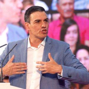 Pedro Sánchez maig 2019 EFE