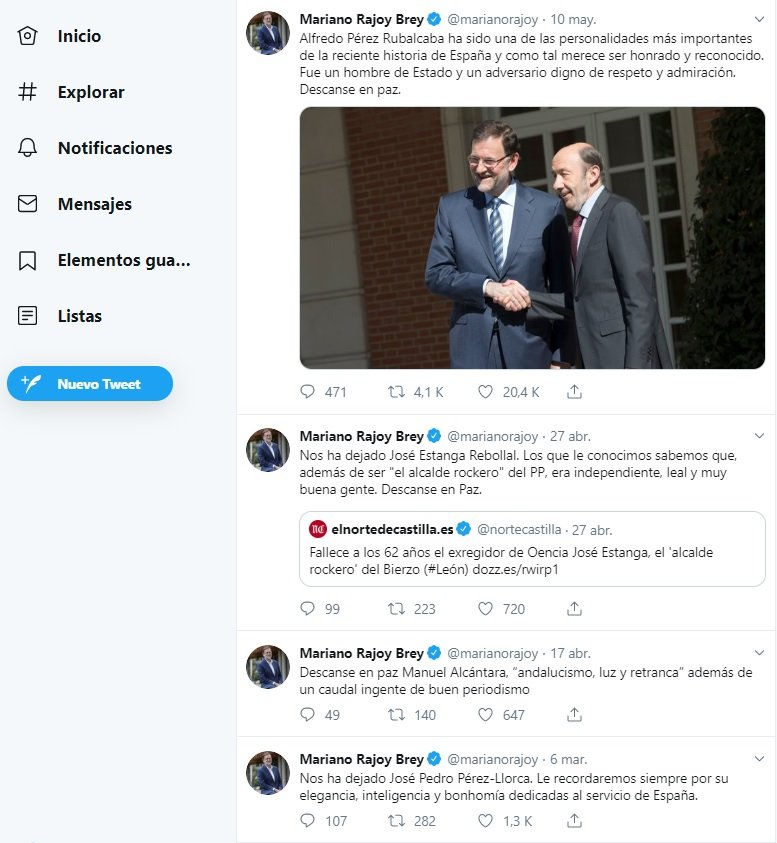 compte twitter rajoy