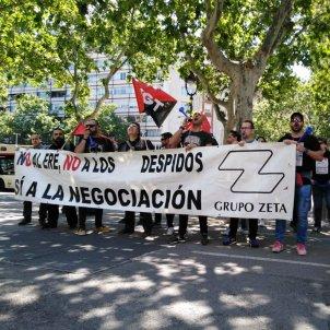 Manifestació vaga rotativa Zeta El Periódico Sport 20190515