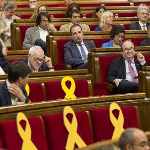 votació Parlament Iceta Senador llaços grocs PSC ERC JxCat - Sergi Alcàzar