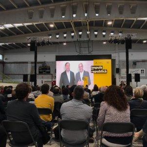 Oriol Junqueras Raül romeva acte campanya - Carlota Camps