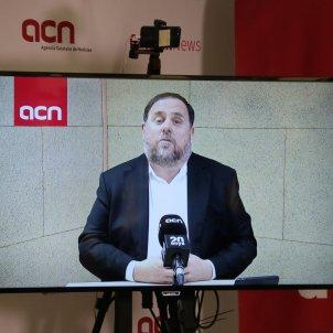 Oriol Junqueras roda de premsa ACN - ACN