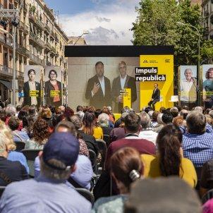 Acte central campanya ERC Sant Antoni Junqueras i Romeva - Sergi Alcàzar