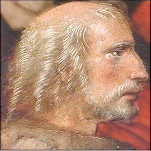 Mor Cristofol Colom. Representació de Colom (principis del segle XVI). Font Viquipedia
