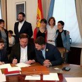 Junqueras firma credencial diputat Congrés - ERC