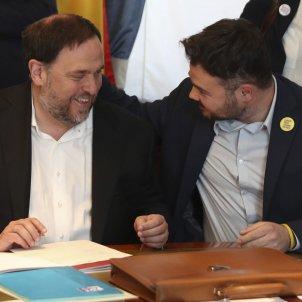 Oriol Junqueras Gabriel Rufián Congrés credencials EFE