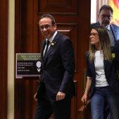 Josep Rull Míriam Nogueras Congrés credencials Efe