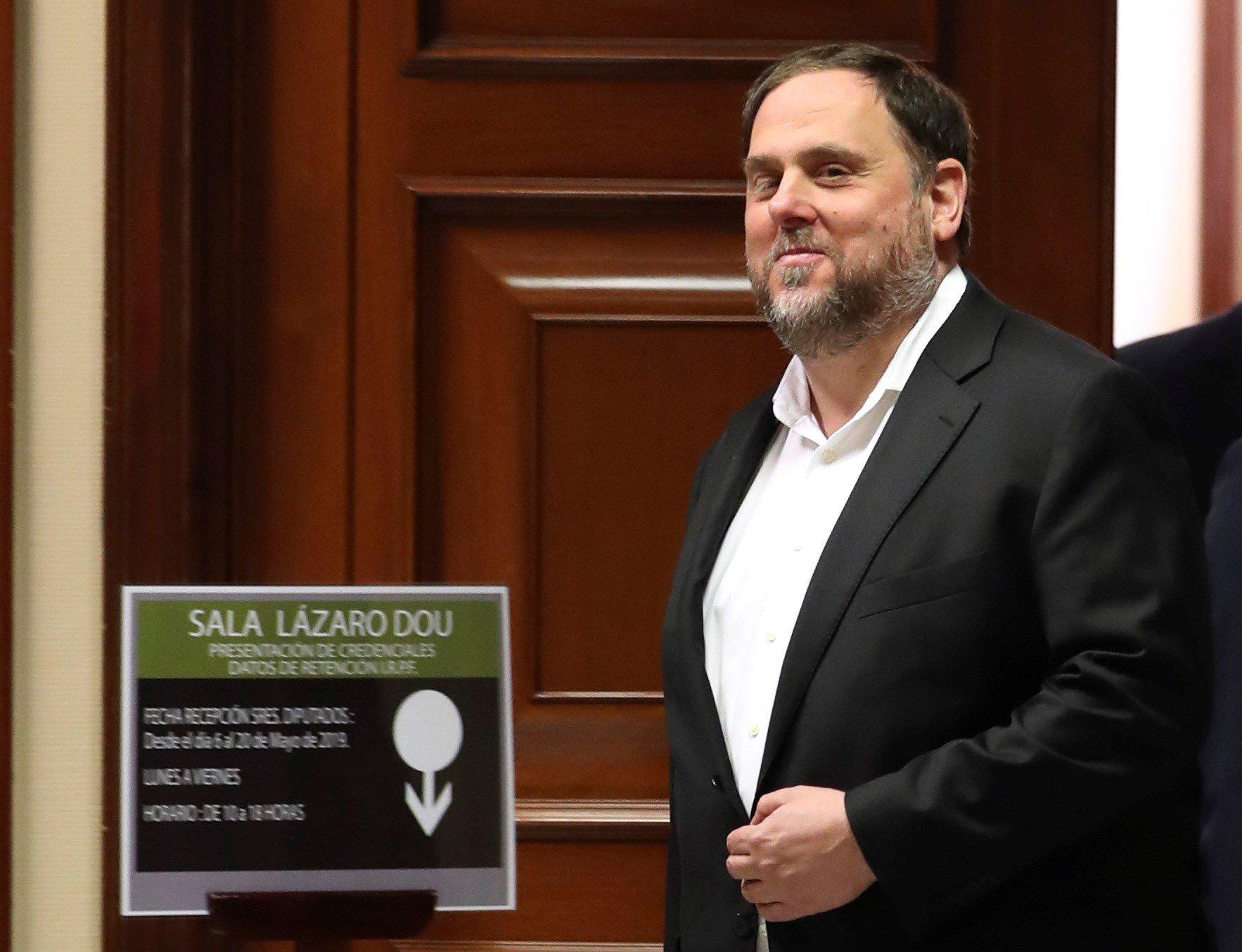 Oriol Junqueras ERC Congreso - Efe