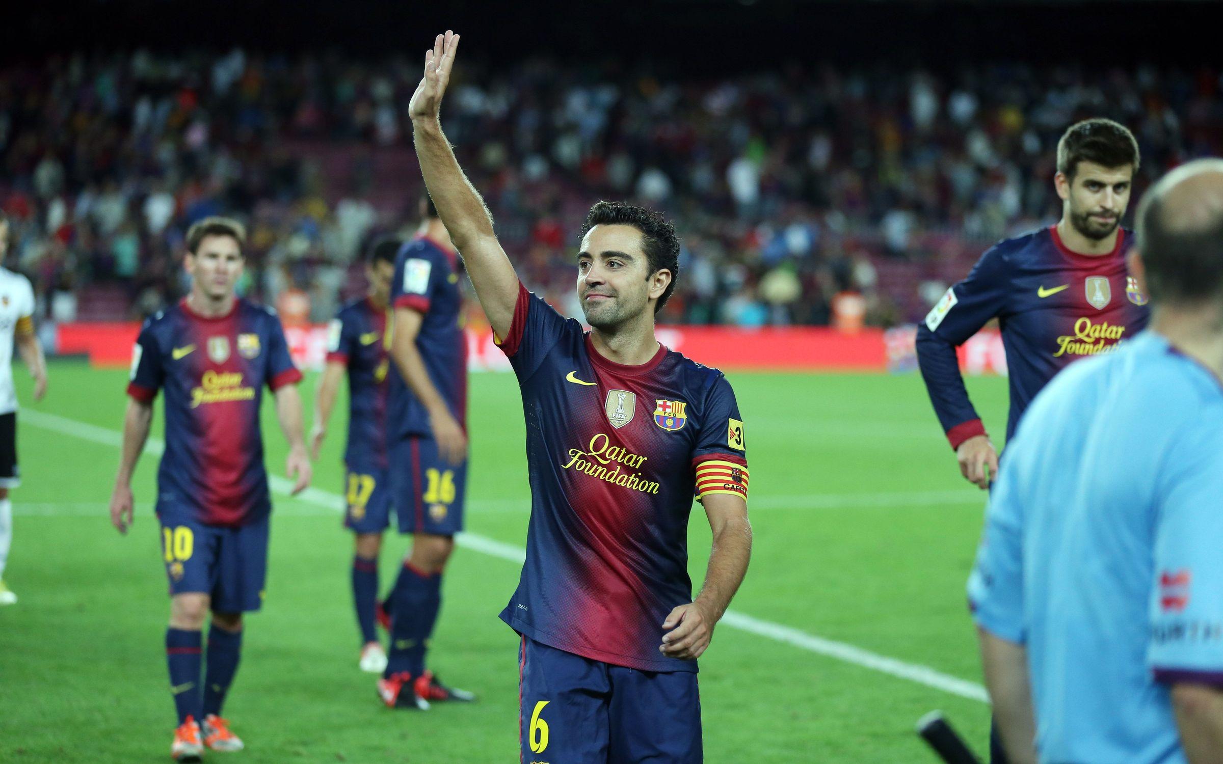 Xavi Hernández Barça FC Barcelona