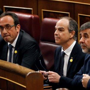 Turull, Sànchez, Rull constitució Congrés - EFE