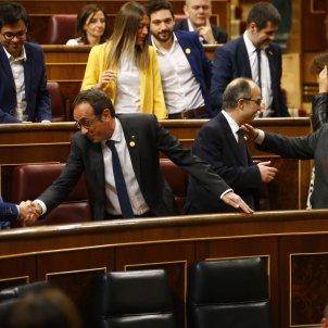 Iglesias Rull donada de mà constitució Congrés - ACN