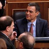 Oriol Junqueras Pedro Sánchez constitució Congrés - EFE