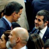 Jordi Sànchez Pedro Sànchez contitució Congrés EFE