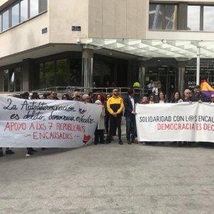 llibertat encausats judici Madrid 16M Gemma Liñan