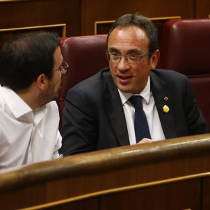 Josep Rull Alberto garzón constitiució Corts ACN