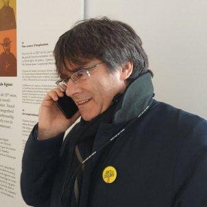 Carles Puigdemont truca presos constitució congrés