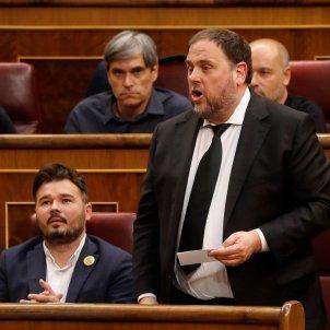 Oriol Junqueras promet càrrec diputat constitució congrés - EFE